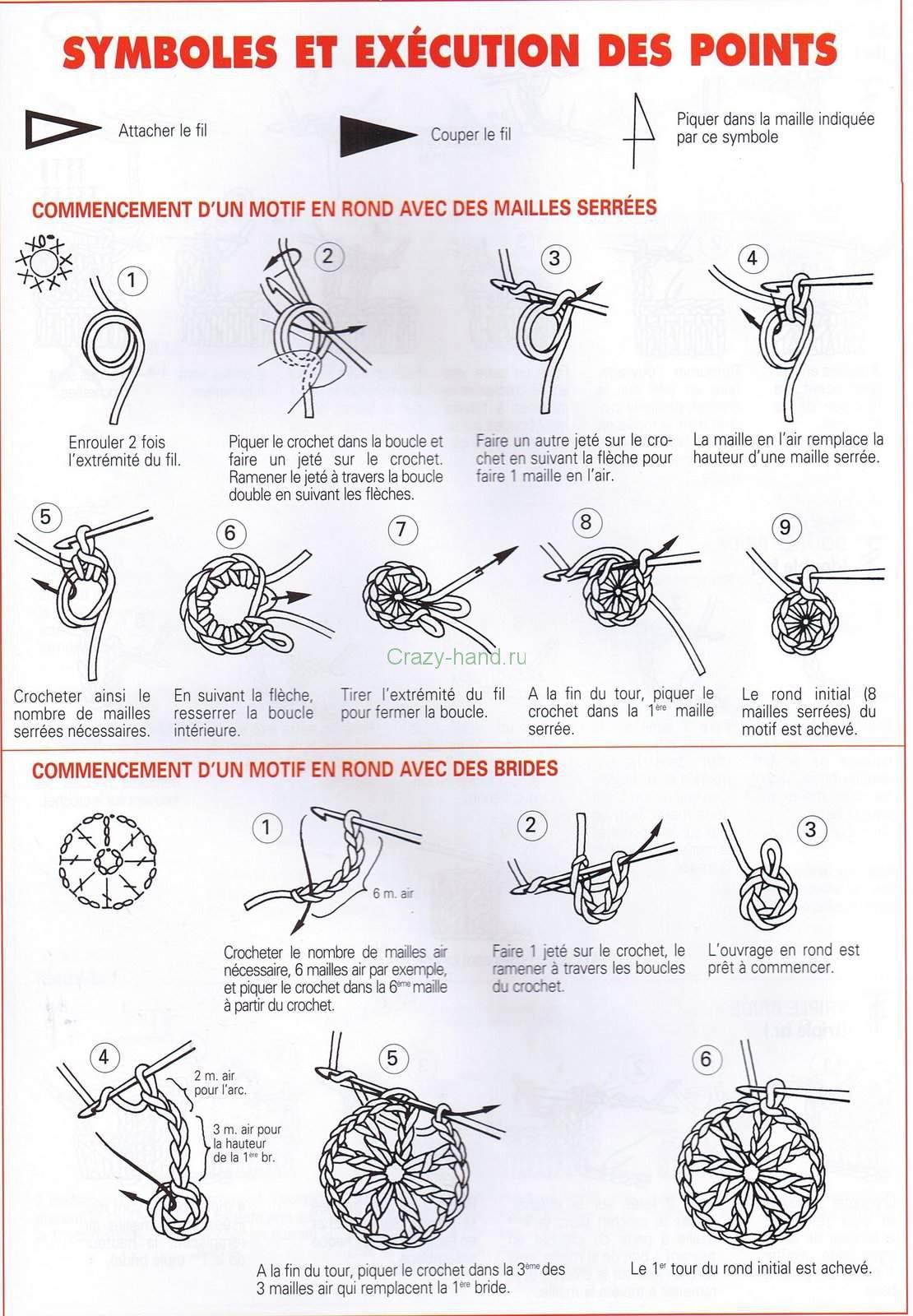 яйца вязанные крючком схема