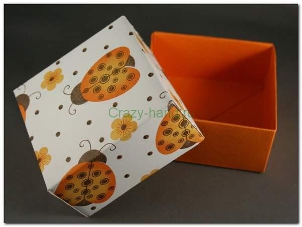 Оригами и видео коробка