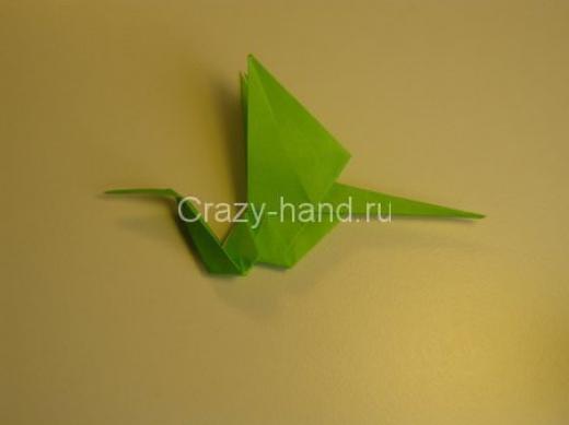Модульное оригами снегурочка схема сборки - Счастливого нового года!