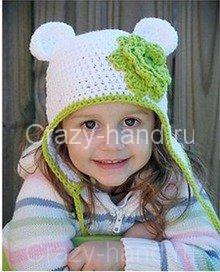 Вязаная детская шапочка.Идеи для вязания.by Natalya Melnik 9,087 views; 0: 35.  Watch Later 0 Как связать.