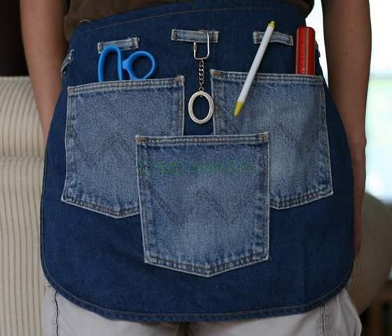 Изделия из джинсов своими руками