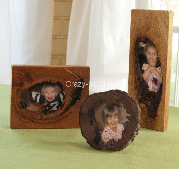 Как сделать рамки для фото из дерева своими руками