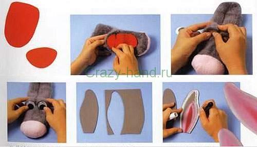 Кукольный театр из носков своими руками 8
