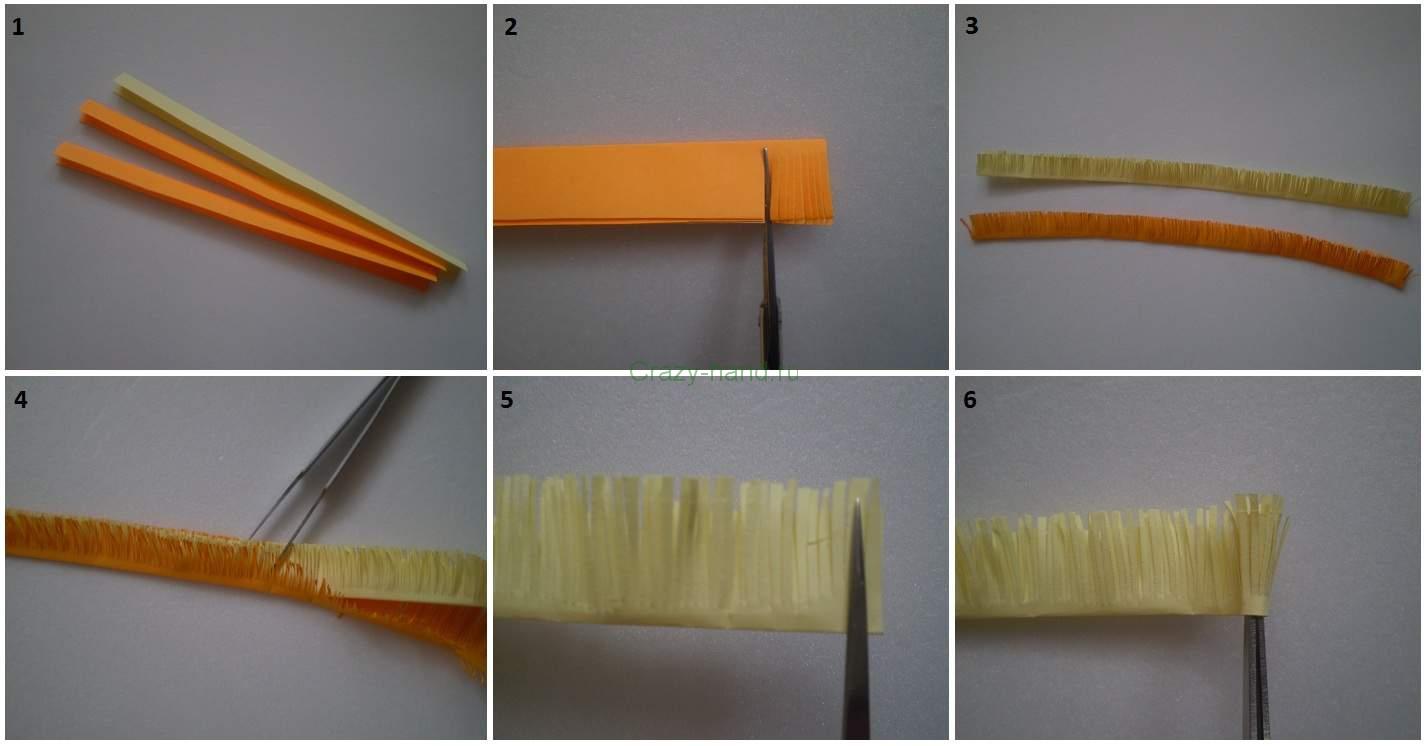 Кручение из бумаги своими руками
