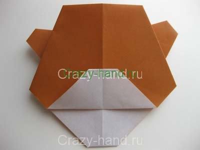 12-origami-bear-face