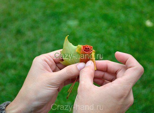 diy_leaf_rose_6
