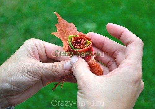 diy_leaf_rose_7