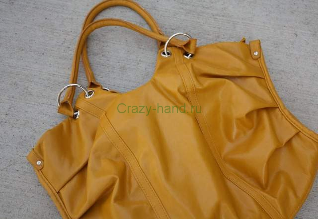 Что можно сделать из сумки своими руками 26779