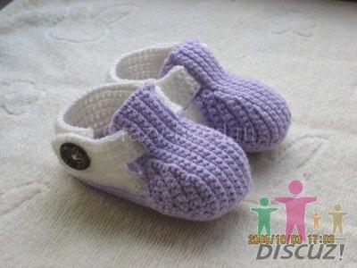 вязаные сандалики