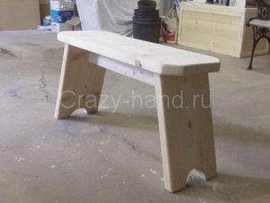 Как сделать маленькую скамеечку своими руками