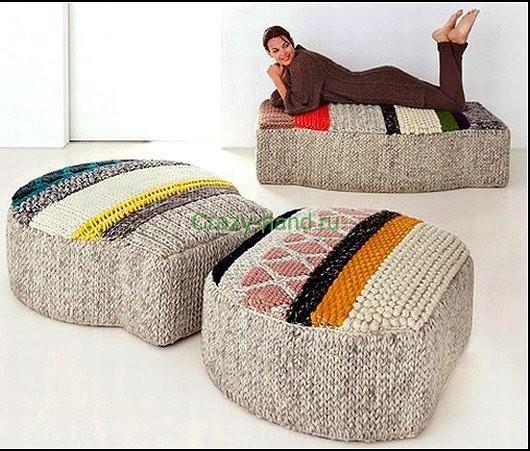 Вязанная мебель3