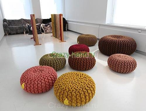 Вязанная мебель5