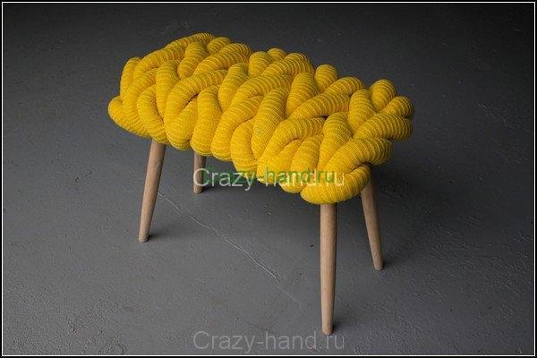 Вязанная мебель4
