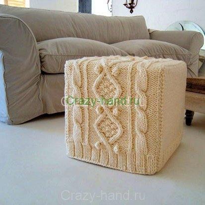 Вязанная мебель9